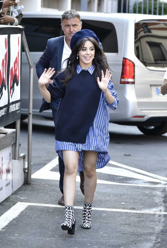 Camila Cabello Arrives at Radio Station NRJ in Paris-3