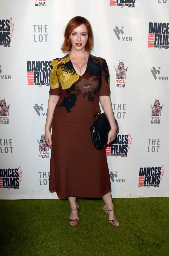 Christina Hendricks at Antiquities Premiere in Los Angeles-1