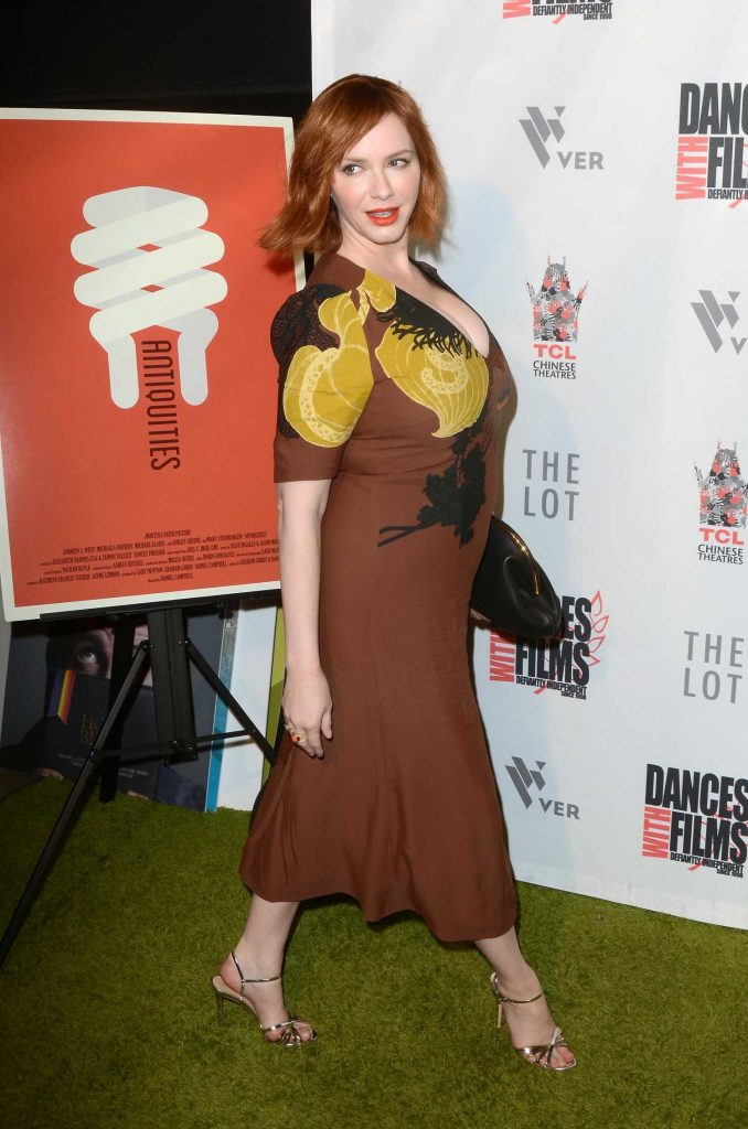 Christina Hendricks at Antiquities Premiere in Los Angeles-2