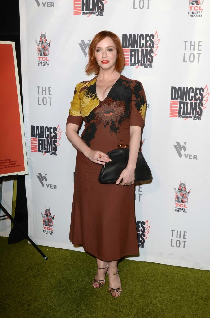 Christina Hendricks at Antiquities Premiere in Los Angeles-3