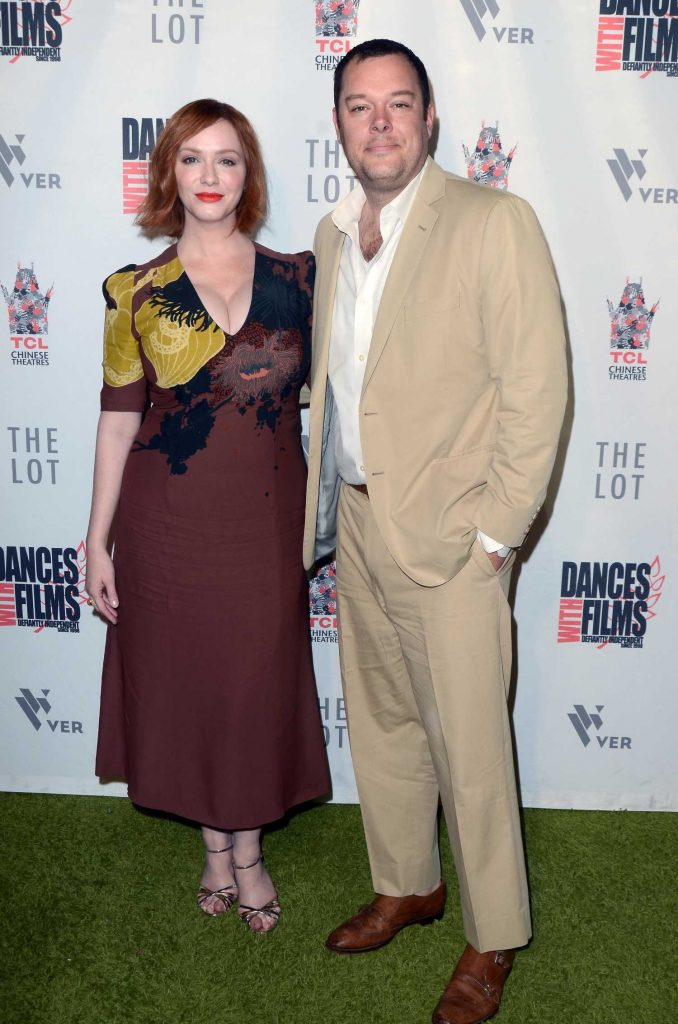 Christina Hendricks at Antiquities Premiere in Los Angeles-4