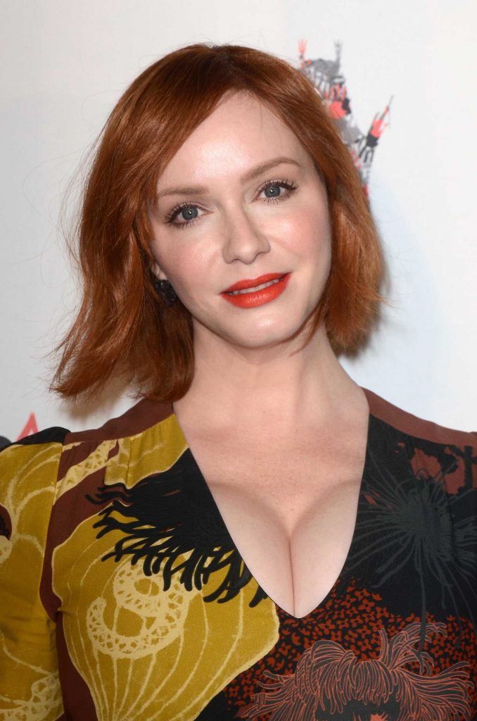 Christina Hendricks at Antiquities Premiere in Los Angeles-5