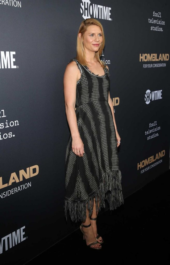 Claire Danes at the Homeland FYC Event in Los Angeles-3