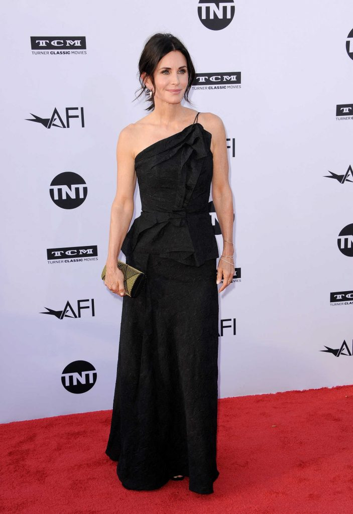 Courteney Cox at American Film Institute 46th Life Achievement Award Gala Tribute to George Clooney in Hollywood-1