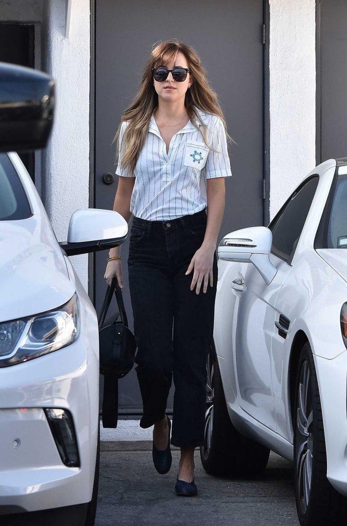 Dakota Johnson Leaves Meche Salon in West Hollywood-1