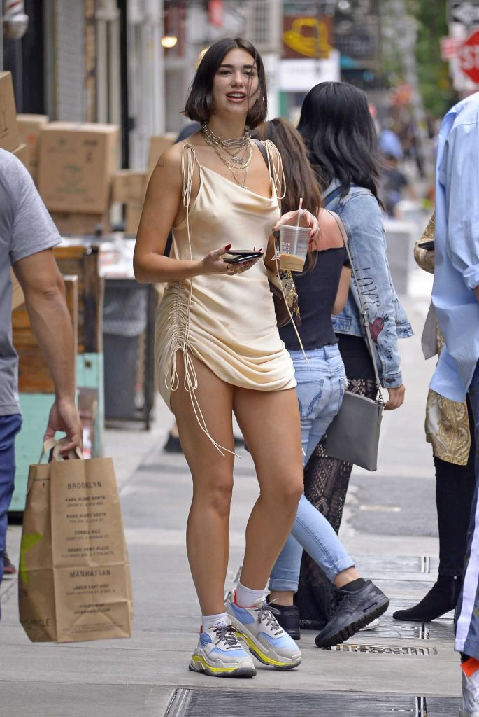 Dua Lipa Goes for Coffee in New York City-2