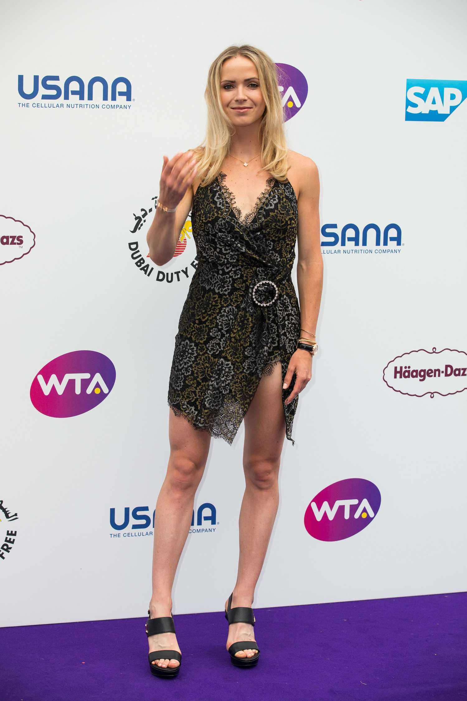 Elina Svitolina Attends the WTA Tennis on the Thames