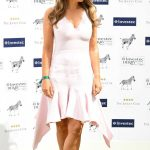 Elizabeth Hurley at Investec Derby Festival at Epsom Downs Racecourse