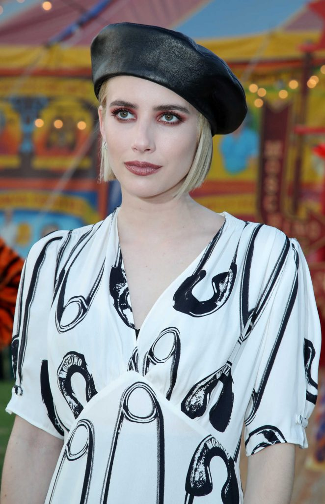 Emma Roberts at the Moschino Resort Collection at Los Angeles Equestrian Center in Burbank-5