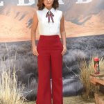 Isabela Moner at the Sicario: Day of the Soldado Photocall at the Four Season Hotel in Los Angeles
