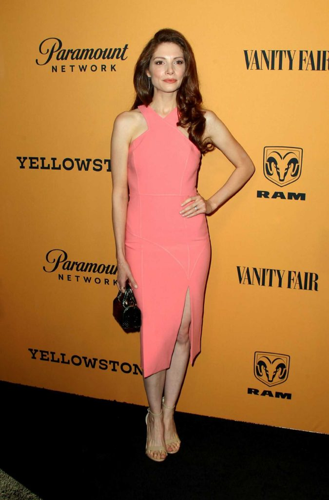 Katherine Cunningham at Yellowstone TV Show Premiere in Los Angeles-1