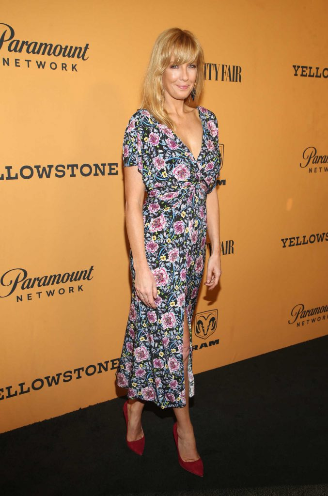 Kelly Reilly at Yellowstone TV Show Premiere in Los Angeles-4