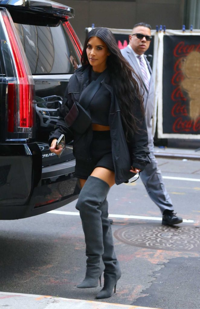 Kim Kardashian Returns to Her Hotel in New York City-1