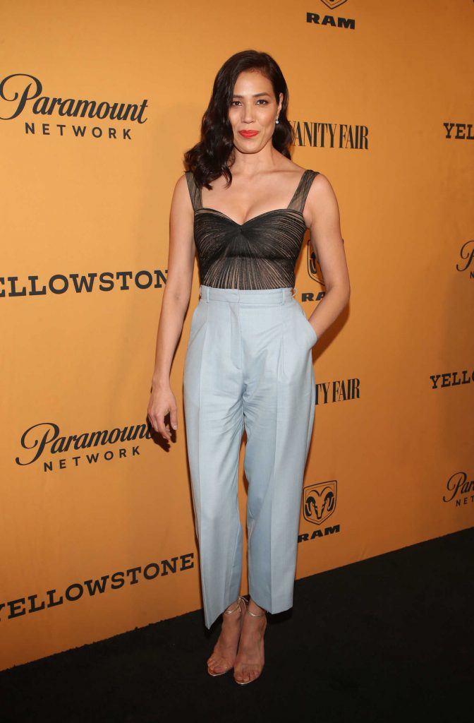 Michaela Conlin at Yellowstone TV Show Premiere in Los Angeles-1