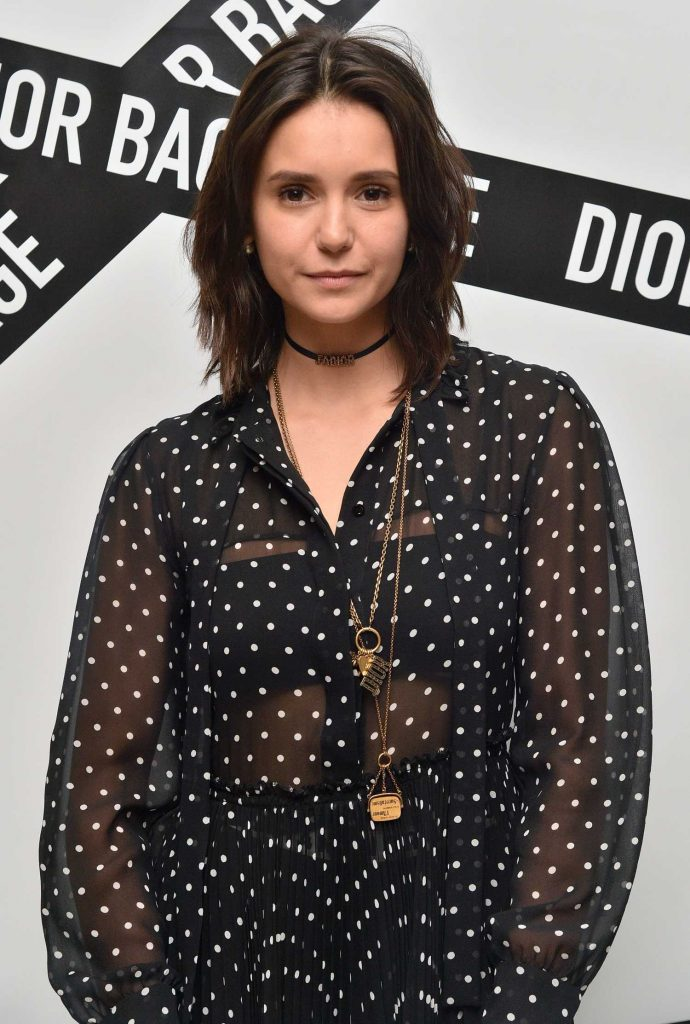 Nina Dobrev at the Dior Backstage Collection Dinner in New York City-2