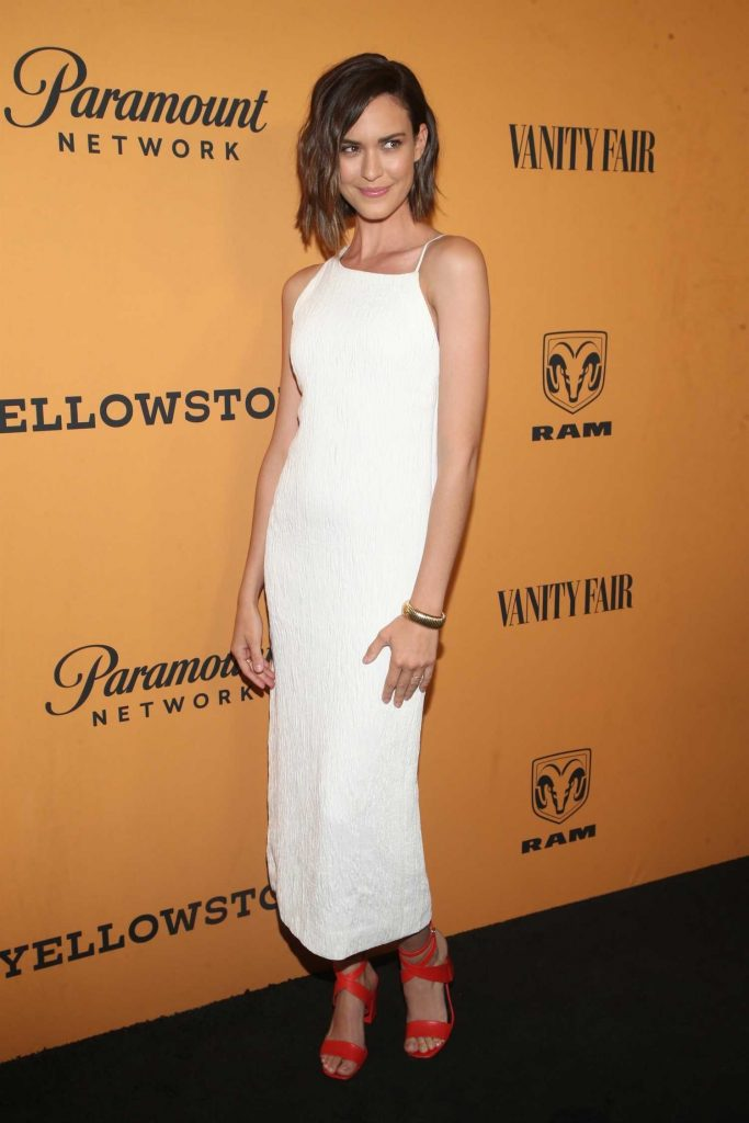 Odette Annable at Yellowstone TV Show Premiere in Los Angeles-3