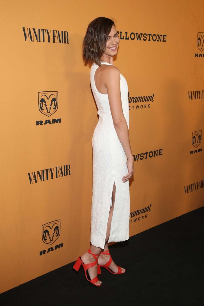 Odette Annable at Yellowstone TV Show Premiere in Los Angeles-4