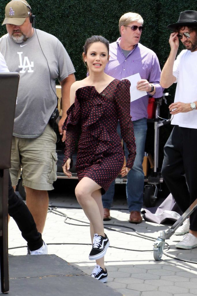 Rachel Bilson Arrives at Extra TV Show in Los Angeles-2