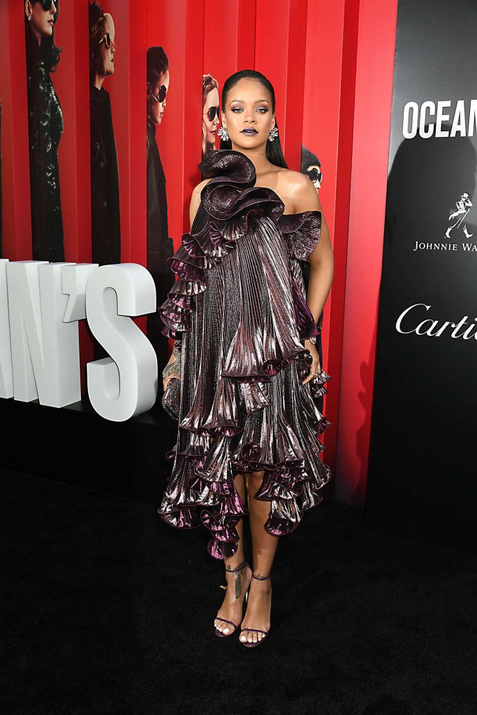 Rihanna at Ocean's 8 Premiere in New York-2