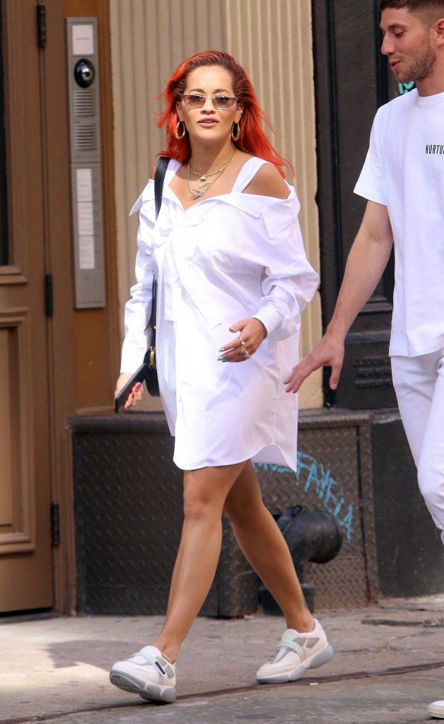 Rita Ora Was Seen Out in SoHo in New York-1