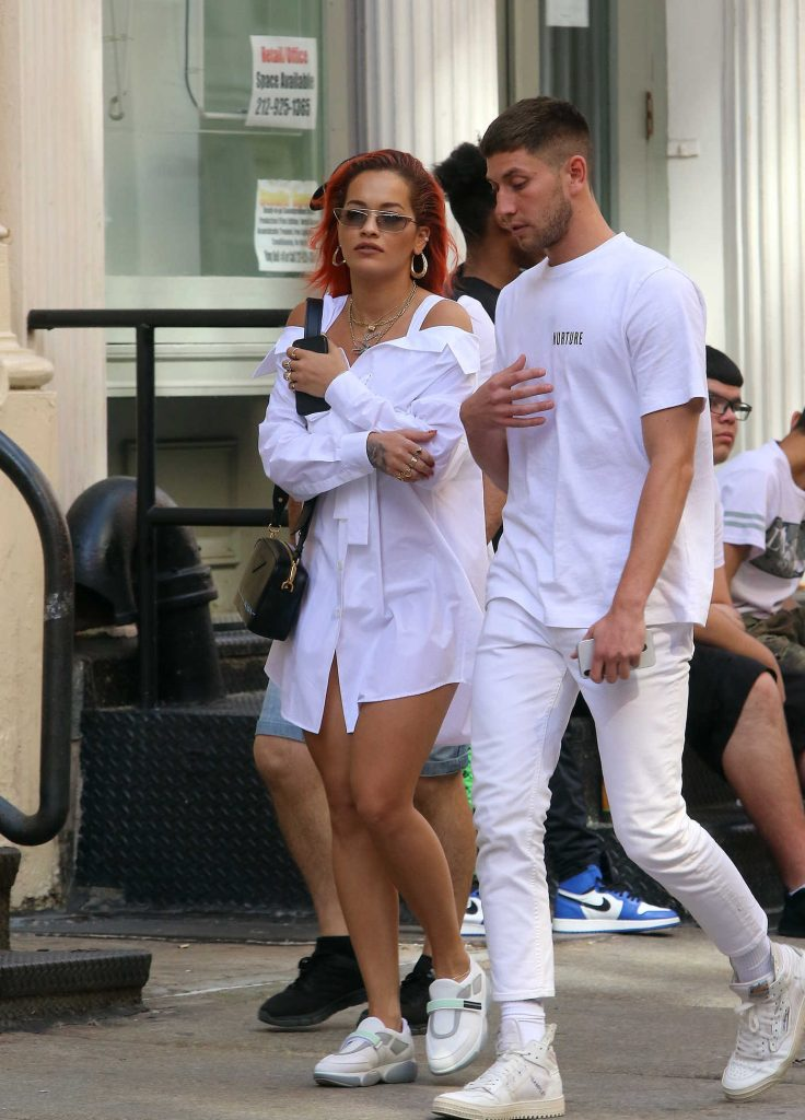 Rita Ora Was Seen Out in SoHo in New York-5