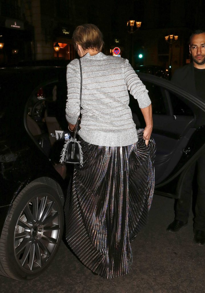 Sharon Stone Leaves Her Hotel in Paris-4