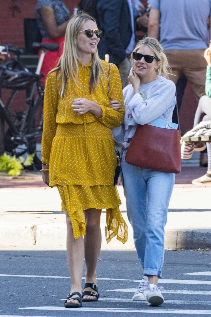 Sienna Miller Was Spotted with Friend Out in New York City-1