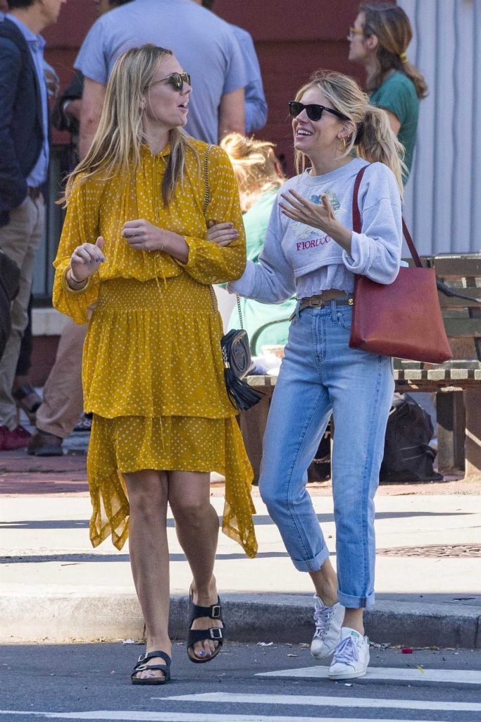 Sienna Miller Was Spotted with Friend Out in New York City-3