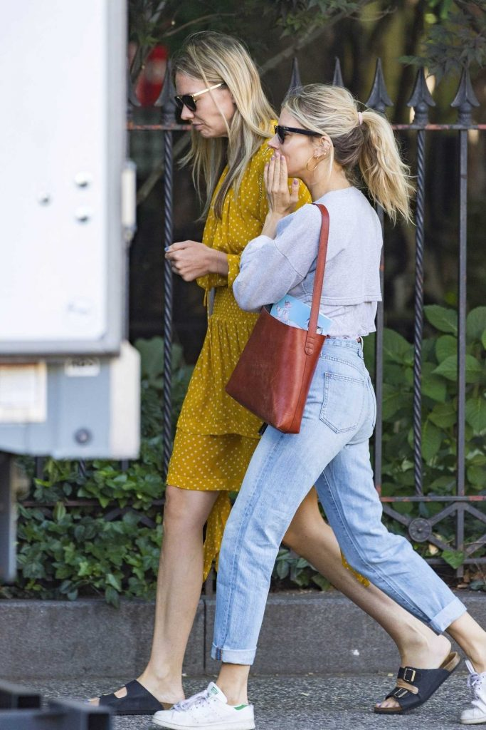 Sienna Miller Was Spotted with Friend Out in New York City-4