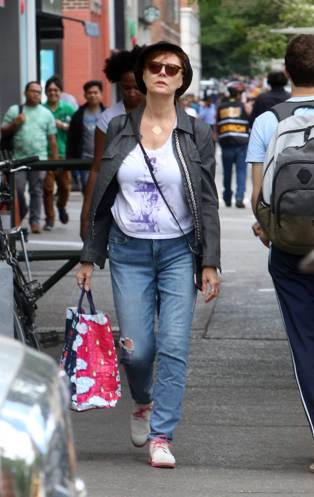 Susan Sarandon Was Spotted Out in New York City-1