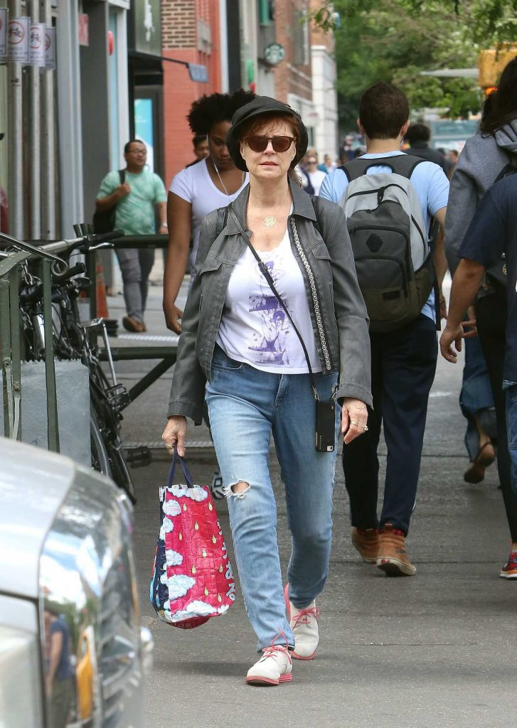 Susan Sarandon Was Spotted Out in New York City-2