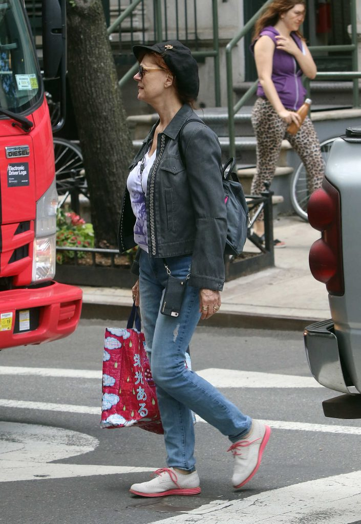 Susan Sarandon Was Spotted Out in New York City-4