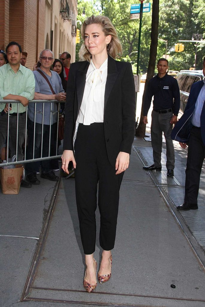 Vanessa Kirby Arrives at The View TV Show in New York City-1