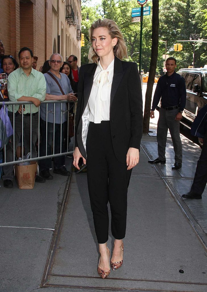 Vanessa Kirby Arrives at The View TV Show in New York City-2