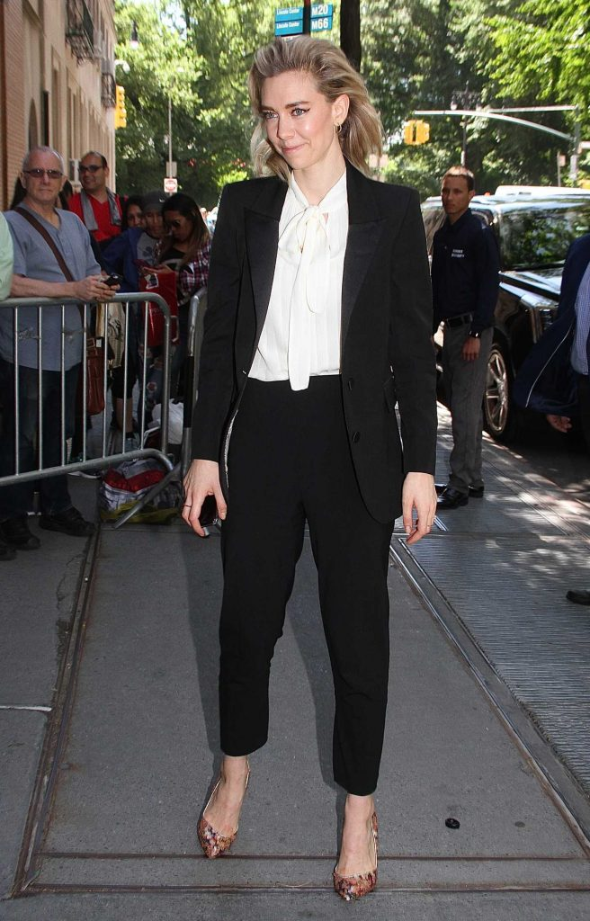Vanessa Kirby Arrives at The View TV Show in New York City-3