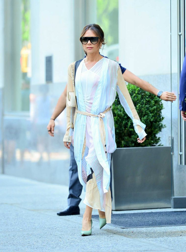 Victoria Beckham Steps Out in New York City-1
