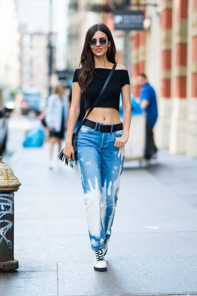 Victoria Justice Was Seen Out in NYC-1