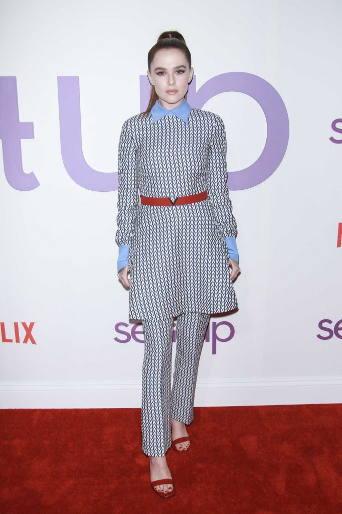Zoey Deutch at the Set it Up Specials Screening in New York-1
