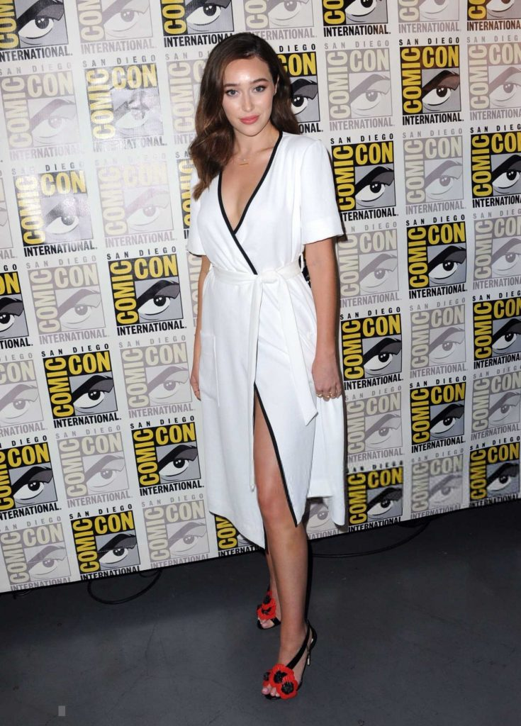 Alycia Debnam-Carey at Fear the Walking Dead TV Show Photocall During the Comic-Con in San Diego-2