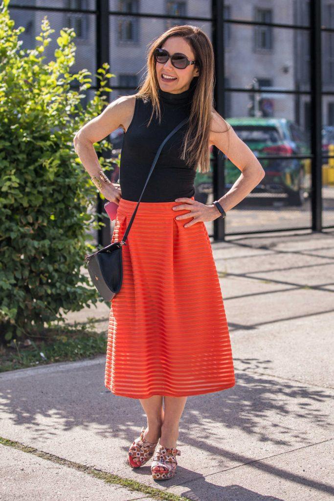 Anastasia Zampounidis Attends the Guido Maria Kretschmer Fashion Show During the Mercedes-Benz Fashion Week in Berlin-3