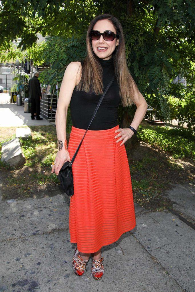 Anastasia Zampounidis Attends the Guido Maria Kretschmer Fashion Show During the Mercedes-Benz Fashion Week in Berlin-4