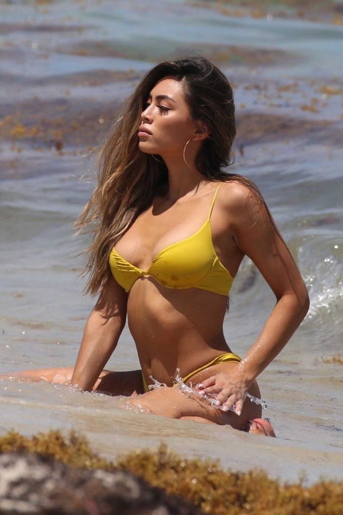 Britt Rafuson in Bikini on the Beach in Miami-4
