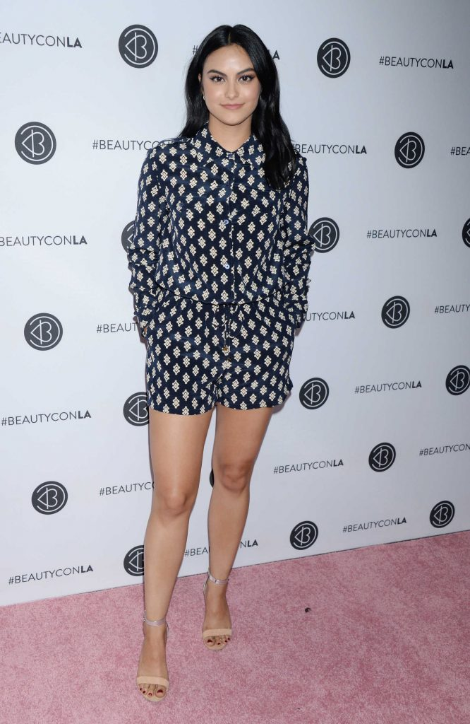 Camila Mendes Attends Los Angeles Beautycon Festival in Los Angeles 07/15/2018-1