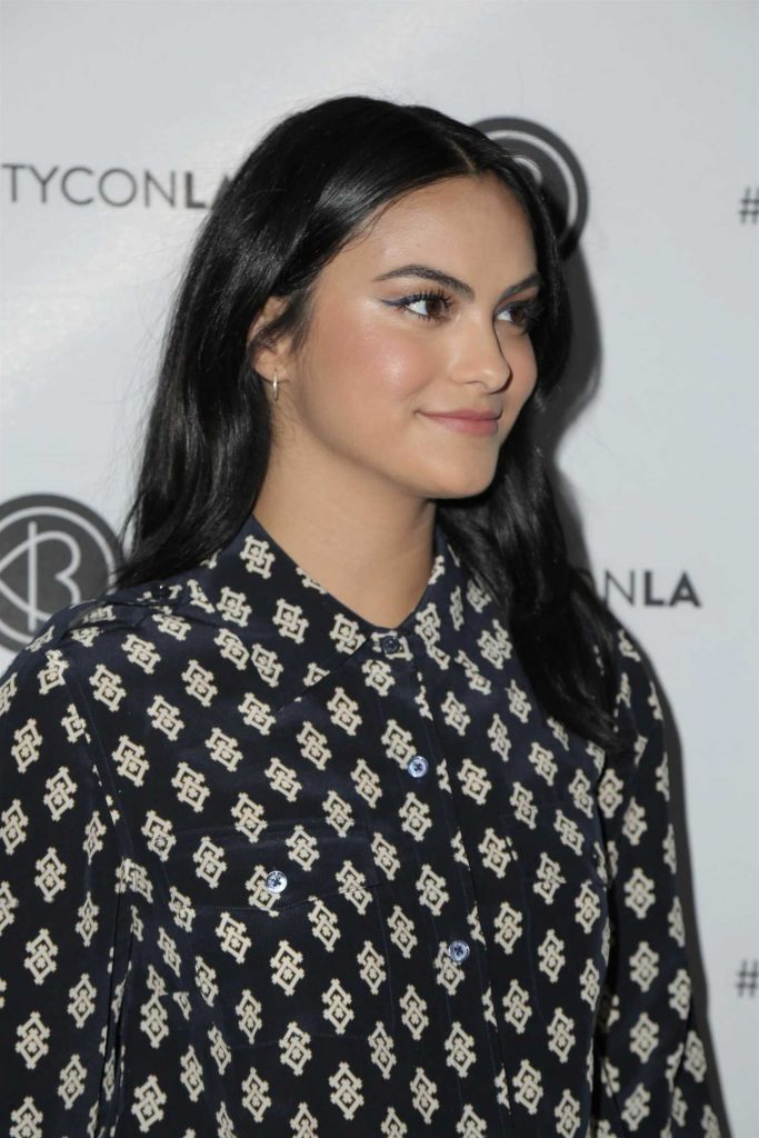 Camila Mendes Attends Los Angeles Beautycon Festival in Los Angeles 07/15/2018-4