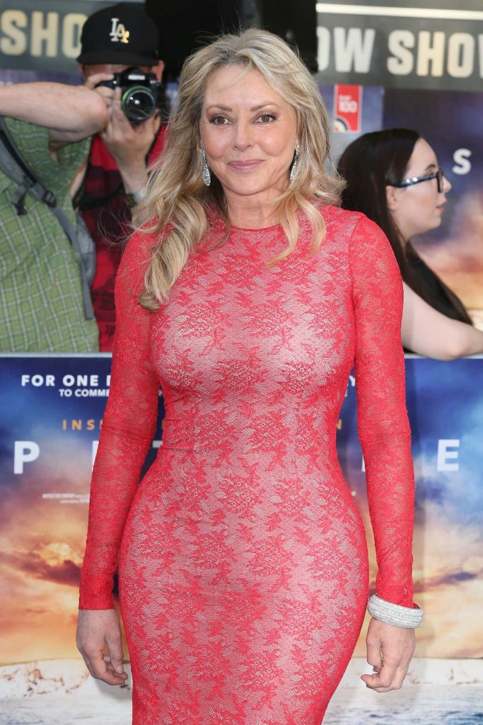 Carol Vorderman Attends Spitfire World Premiere in Mayfair, London-5