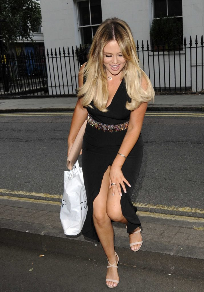 Emily Atack Attends BT Plus The Great Indoors Launch Party in London-1