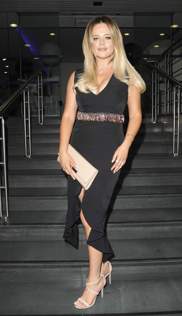 Emily Atack Attends BT Plus The Great Indoors Launch Party in London-3