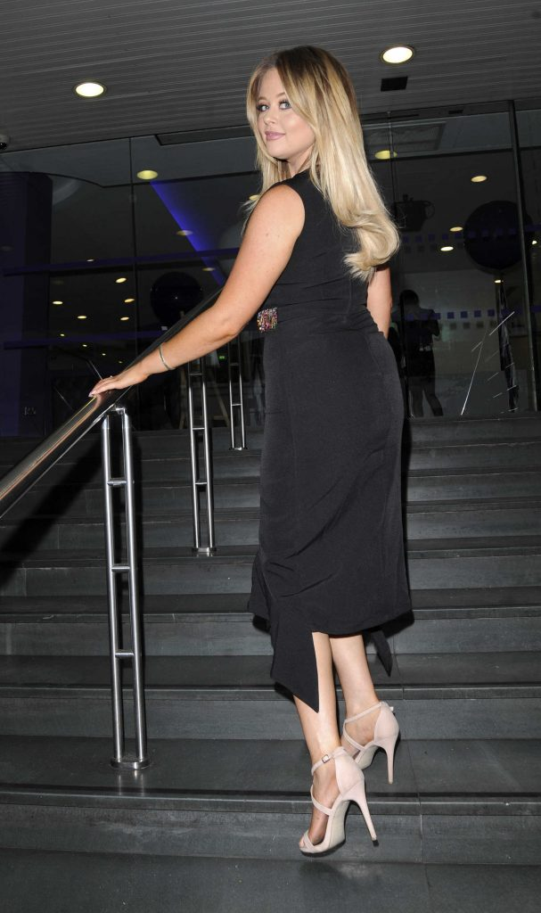 Emily Atack Attends BT Plus The Great Indoors Launch Party in London-4