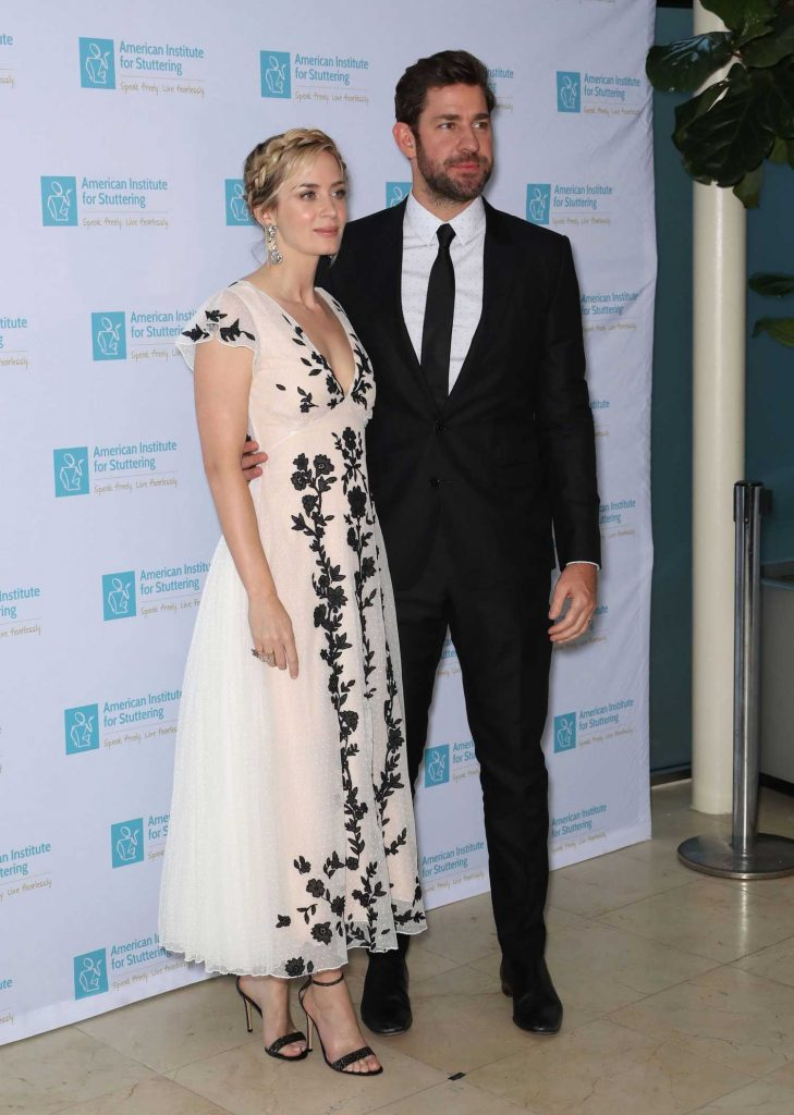 Emily Blunt Attends at the 12th Annual AIS Freeing Voices Changing Lives Gala in New York-4