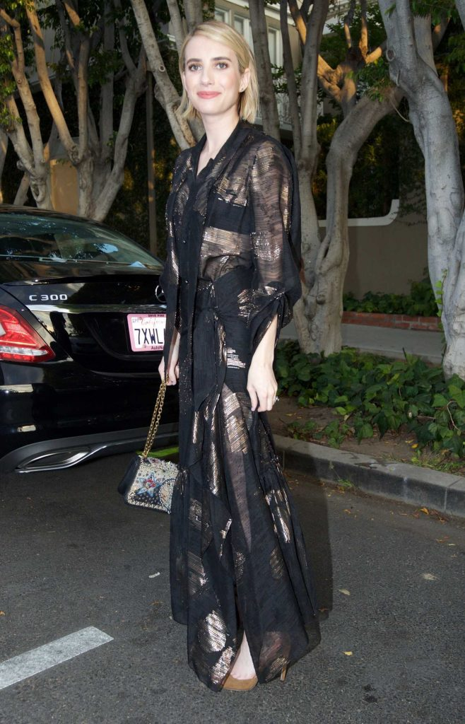 Emma Roberts Leaves the Violet Grey Event in Los Angeles-1